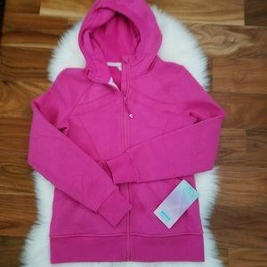 The ivivva hoodie jacket lululemon pink size 14